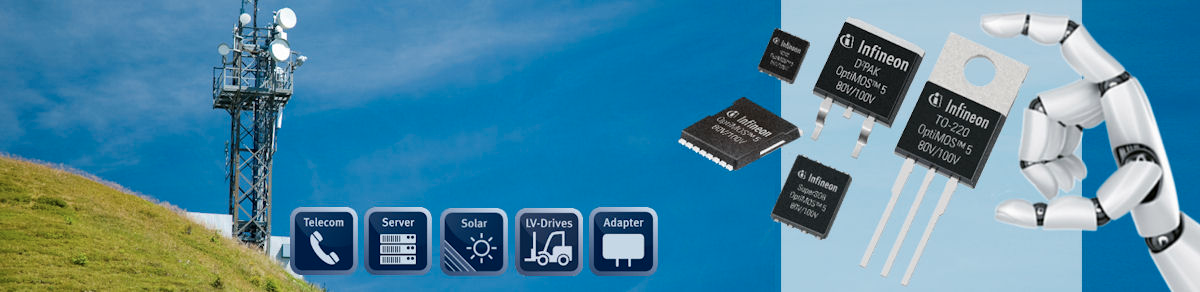 Infineon's latest 80V and 100V power MOSFETs claim lowest on-state resistance