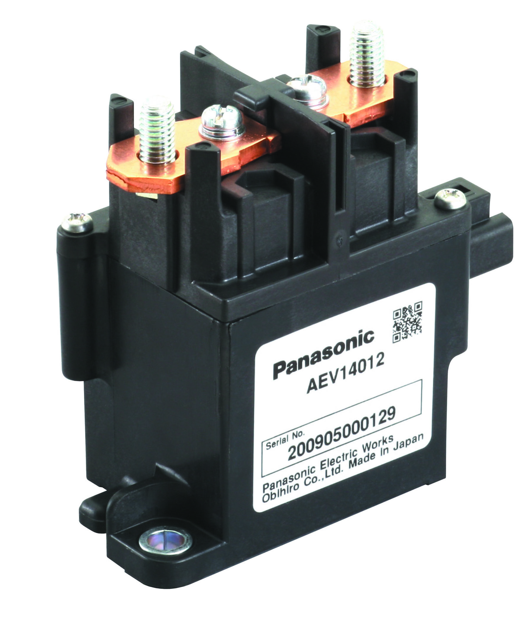 Panasonic's electric vehicle relays for DC switching in powertrain apps now at TTI