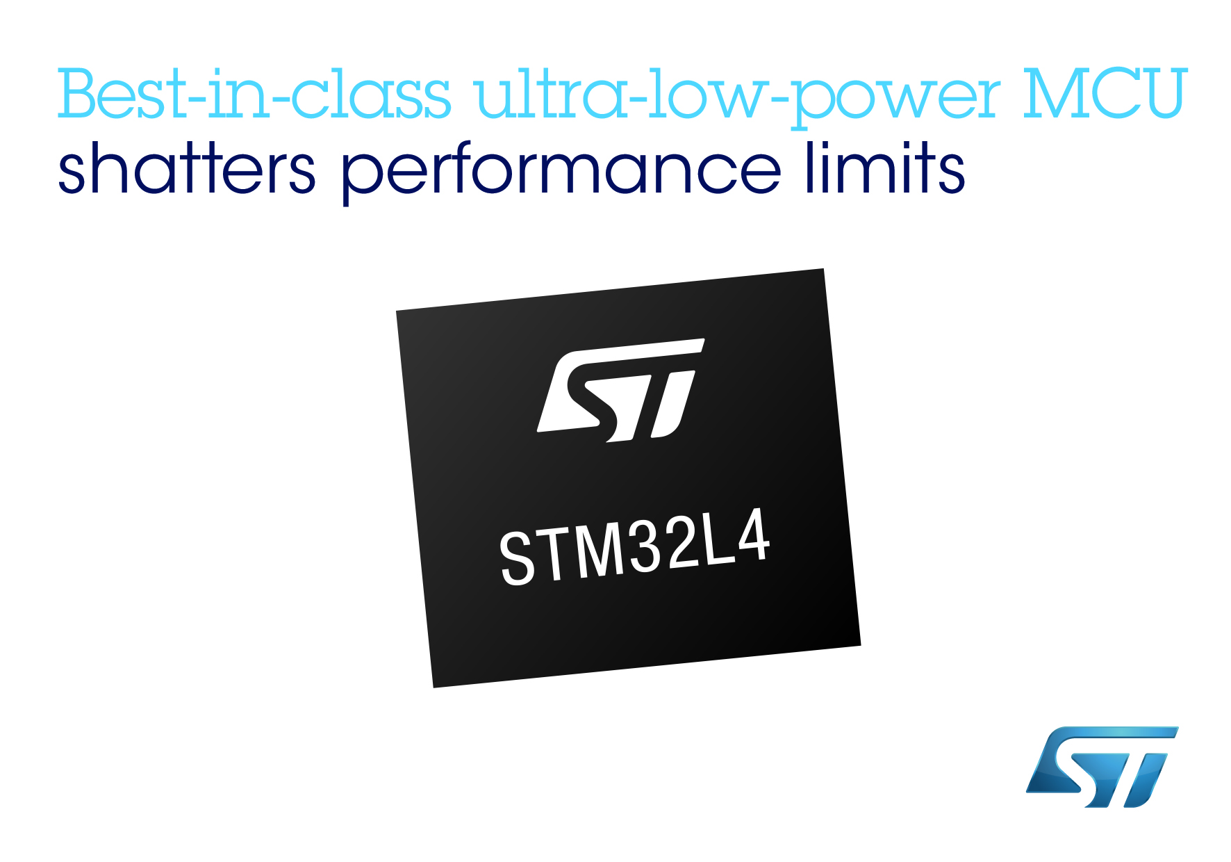 STMicro's STM32L4 microcontrollers overcome performance limitations for ultra-low-power apps