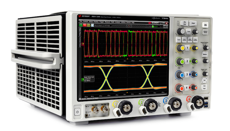 Keysight's Infiniium V-Series oscilloscopes offer greater insights in validation & debug