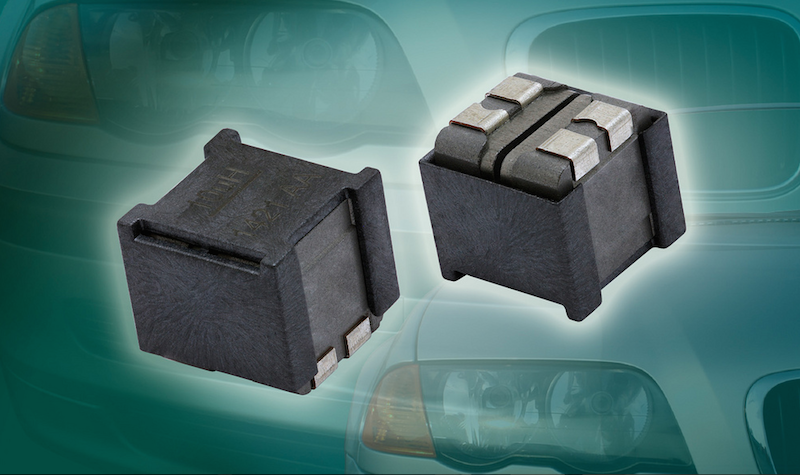 Vishay's dual inductor saves space, offers high temperature range for Class D amplifiers