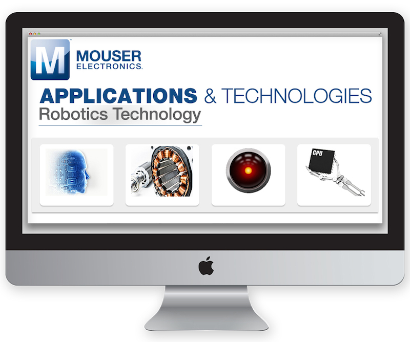 Mouser launches next-gen robotics tech site