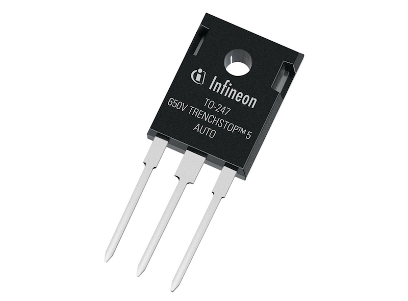 Infineon's latest 650V IGBTs offer high efficiency for fast switching in electric and hybrid vehicles
