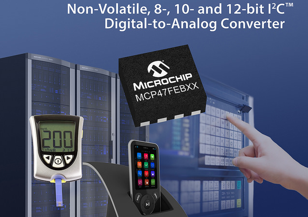 Microchip launches new DAC family