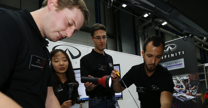 Infiniti offers top engineering students a motorsport career opportunity of a lifetime