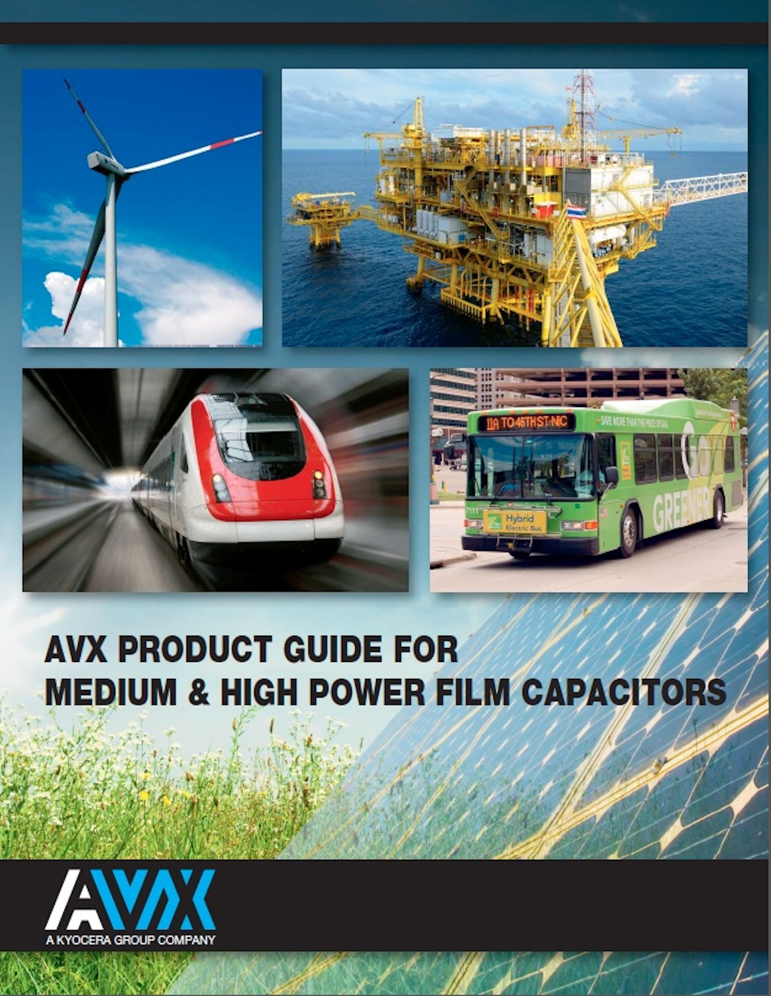 AVX releases interactive guide to medium- & high-power film capacitors