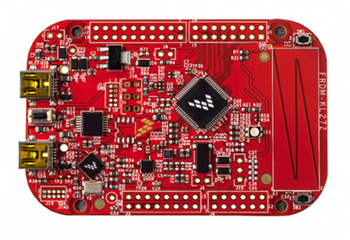 Newark element14 launches low-power Freescale Freedom Platform FRDM-KL27Z with USB