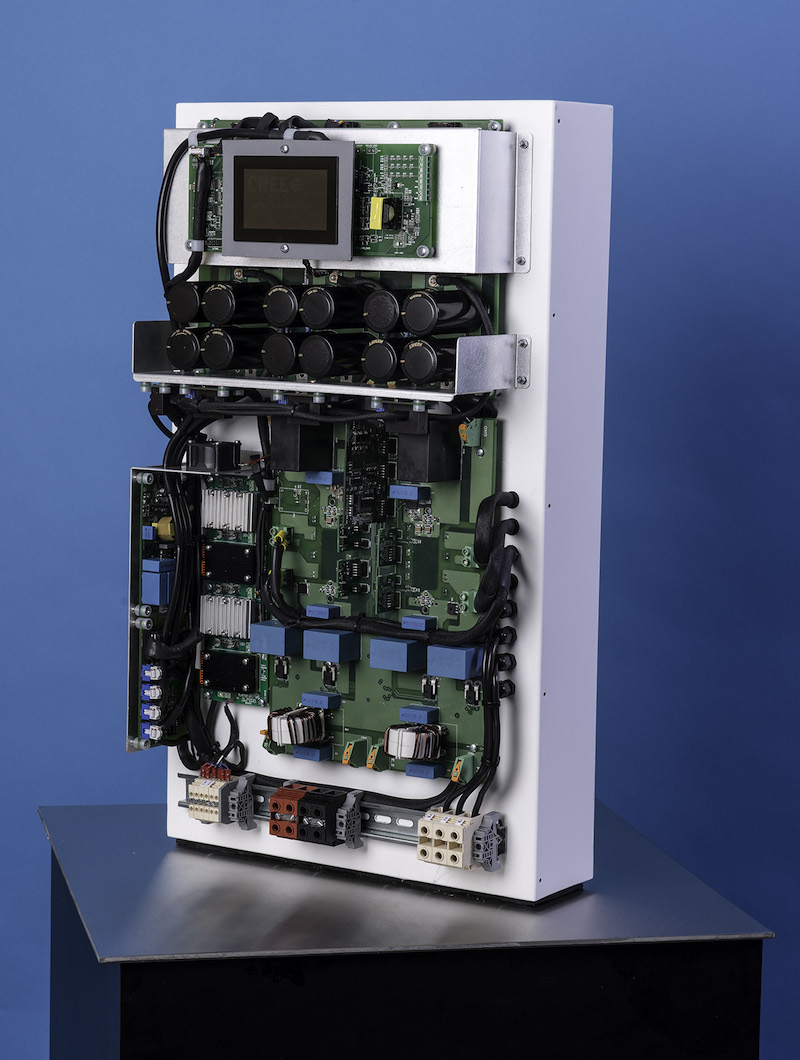 Cree's SiC tech enables significant reduction of solar inverter size, weight, & cost