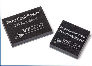Vicor expands its Picor Cool-Power ZVS Regulator family with their latest buck-boost regulators