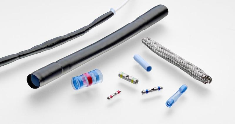 TE's high-temp, flexible splice kits deliver environmental and EMI protection