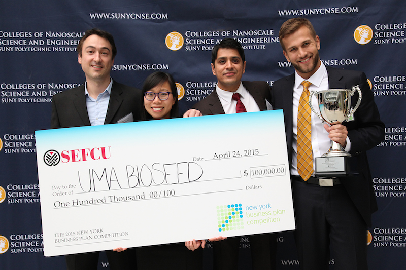 New York Business Plan Competition student award winners announced