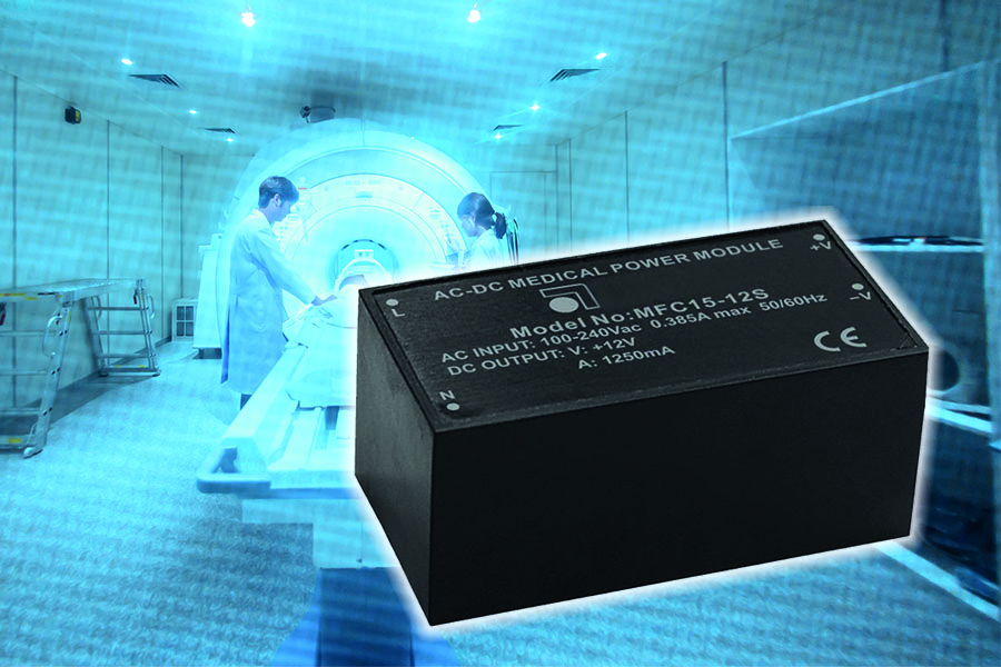 Stadium Power releases 15W AC/DC medical power module