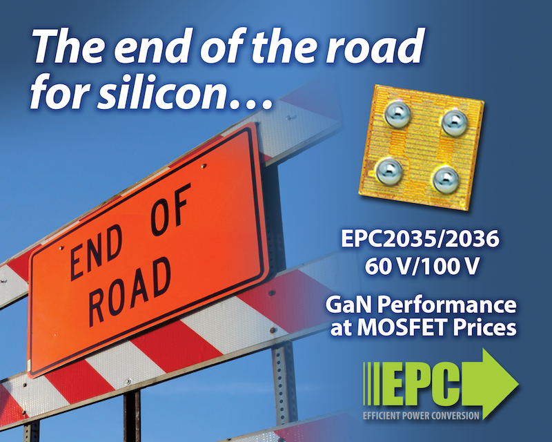 EPC's new eGaN power transistors now break silicon's cost-speed barriers