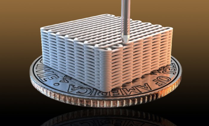 3D-printed aerogels improve energy storage