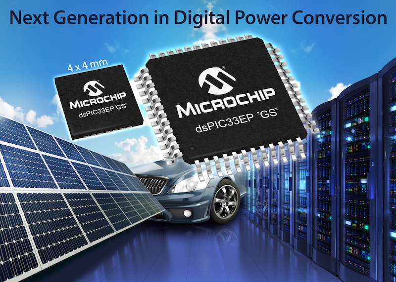 "Microchip's dsPIC33EP ""GS� family is optimized for digital power apps"