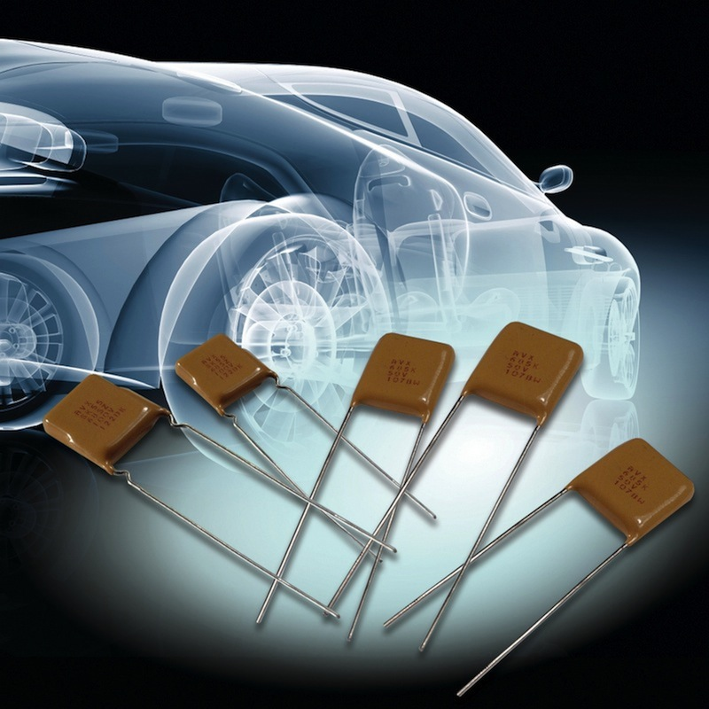 AVX introduces HV auto-grade radial-leaded MLCCs