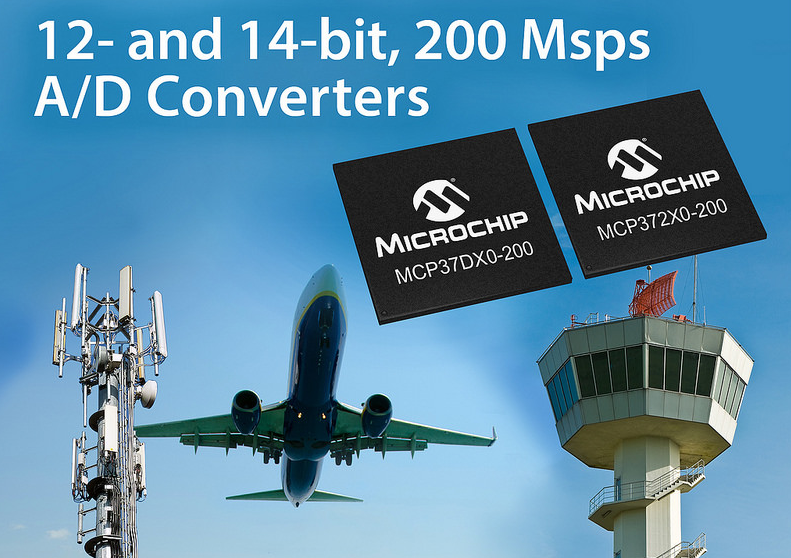 Microchip' latest high-speed ADCs tout high integration, low-power operation