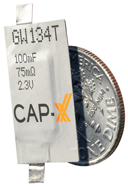 CAP-XX Launches 0.6mm Thinline supercaps for designing wearable, ultra-portable and IoT devices