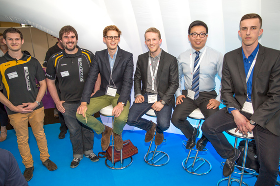 Novel magnetic field harvesting project wins 2015 CWIEME Challenge