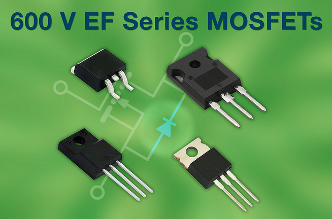 Vishay Intertechnology's latest fast body diode N-channel MOSFETs enhance performance in soft-switching topologies