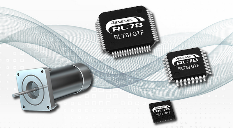 Renesas simplifies sensor-less brushless DC motor control