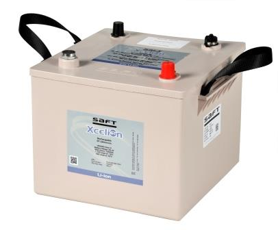 Saft's military-grade lithium-ion Xcelion 6TTM is a drop-in replacement for lead-acid batteries