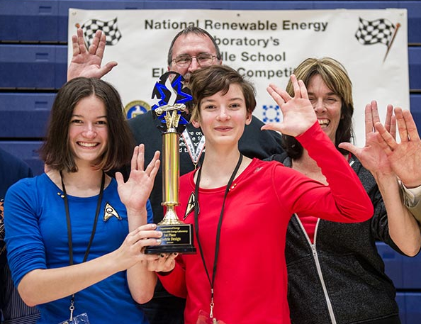 Innovation and learning at the 25th Annual Junior Solar Sprint and Lithium Ion Battery car competitions