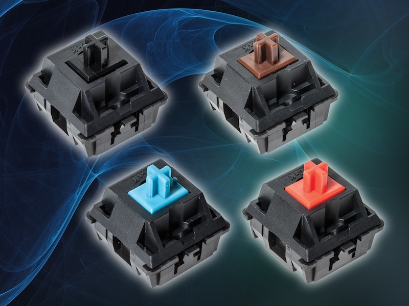 C&K's high-reliability keyboard switches rated for 50M cycles