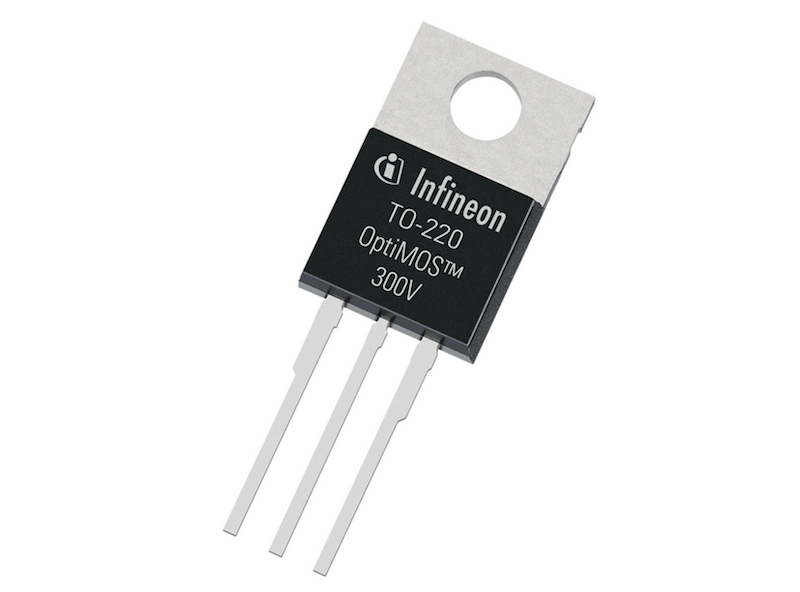 Infineon extends medium-voltage power MOSFET portfolio with 300V devices