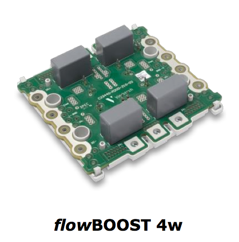 Vincotech's flowBOOST4w modules suit UPS and other three-phase PFC apps