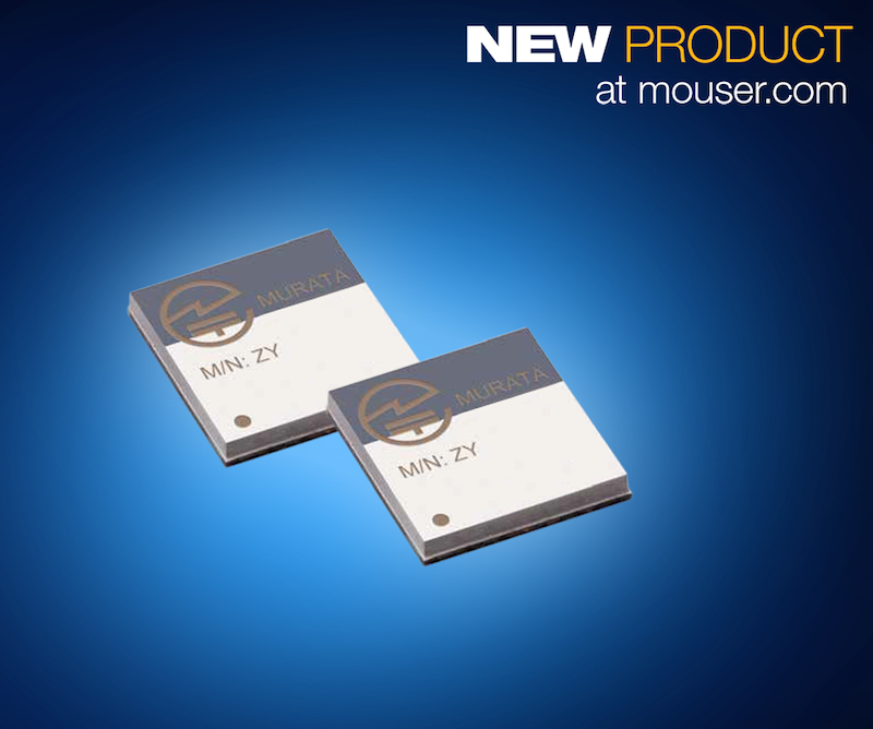 Murata's Type ZY Bluetooth SMART module now at Mouser