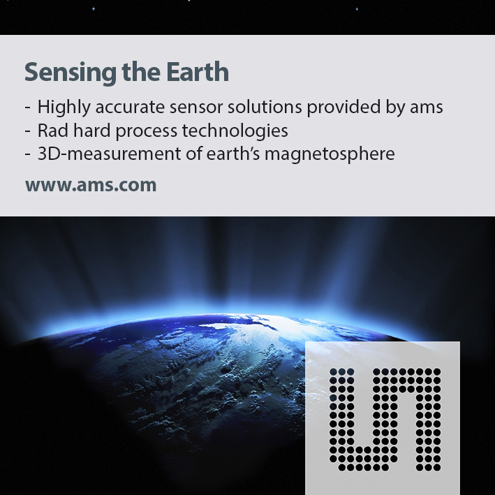 "ams sensors serve NASA's ""Magnetospheric Multiscale� mission"