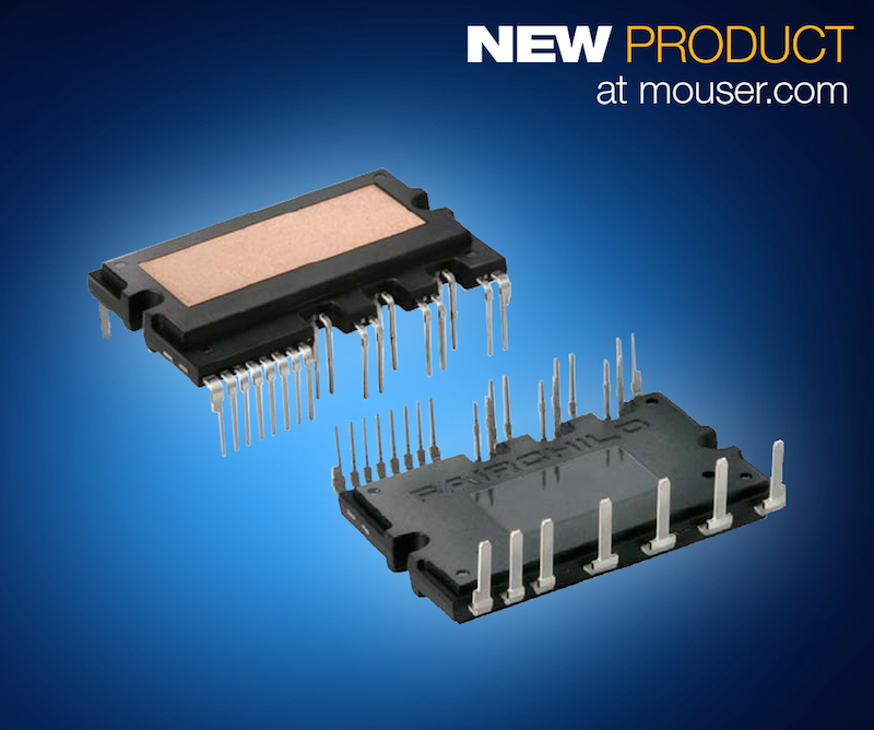 Fairchild's FSBB10CH120DF Motion SPM 3 Series IGBT Module now at Mouser