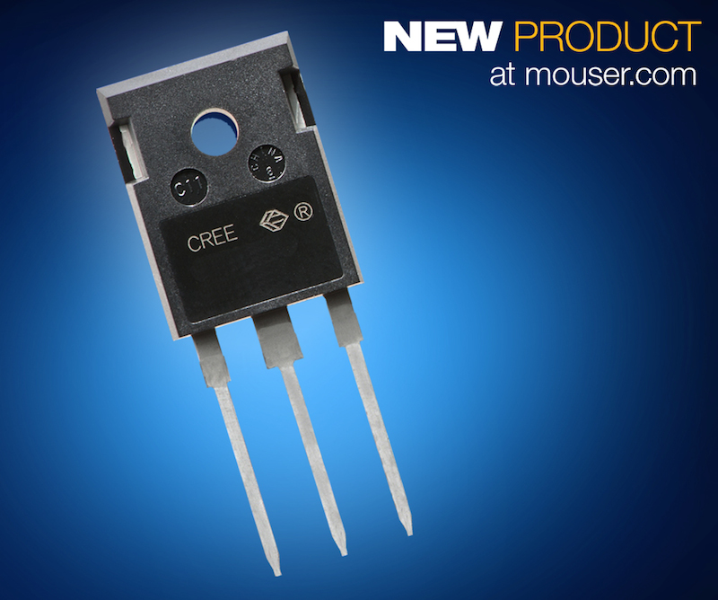 Cree's next-gen 900V SiC MOSFET now at Mouser