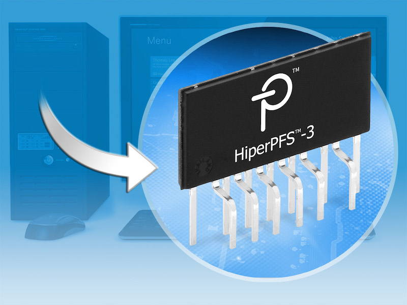 Power Integrations' HiperPFS-3 PFC ICs  target light-load performance