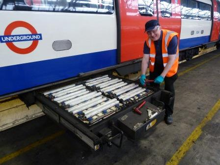 Saft's nickel-based SRM batteries empower the London Underground