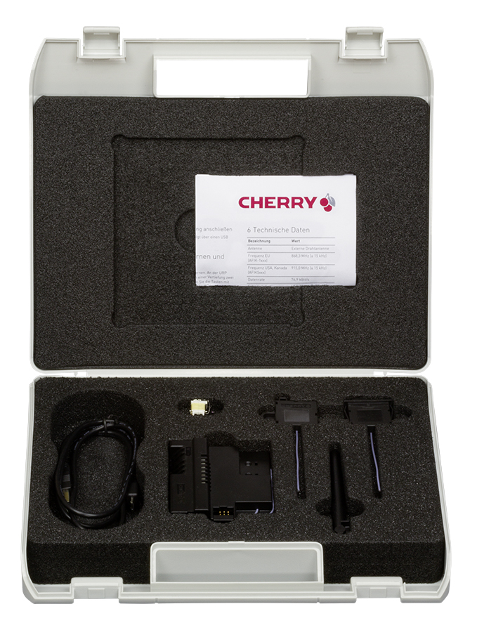 CHERRY releases evaluation kit for innovative energy-harvesting switch tech
