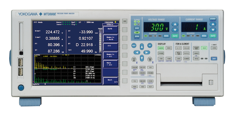 Yokogawa's WT3000E claims to be the most accurate and stable power analyzer available