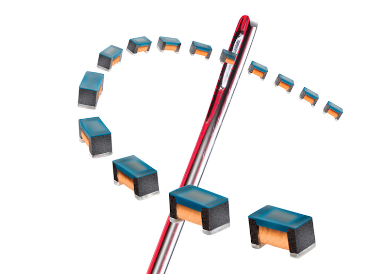 Coilcraft's latest chip inductors claim highest inductance and Lowest DCR of any 0402-sized RF choke