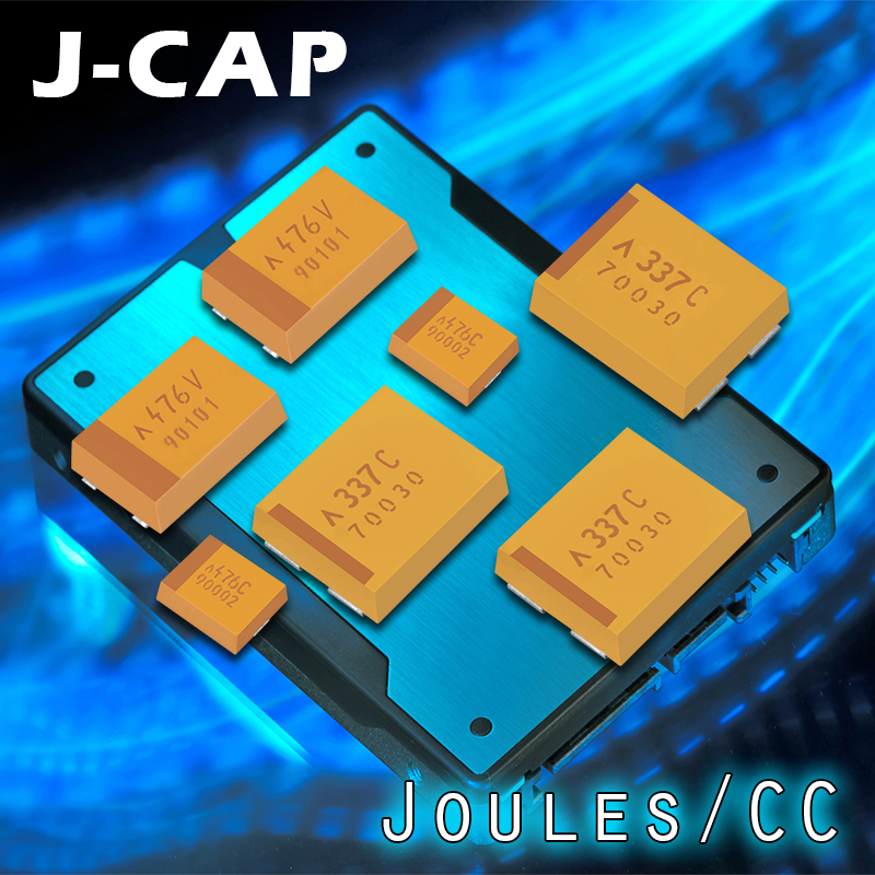 AVX's J-CAP Series boasts the highest energy/volume