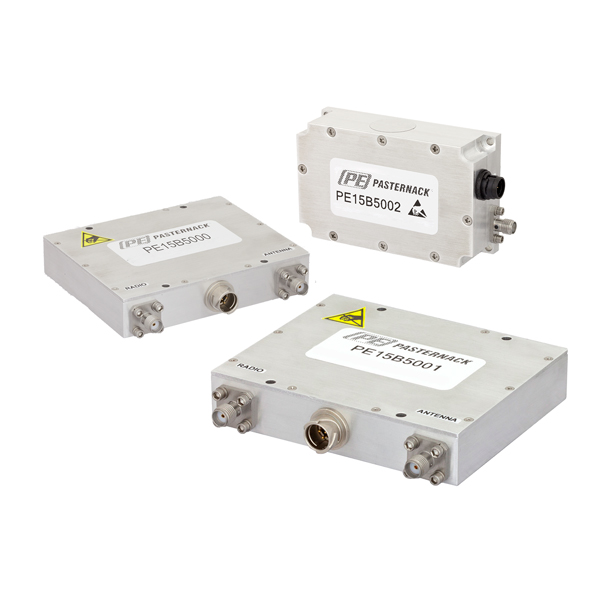 Pasternack unveils a line of coaxial packaged bi-directional amplifiers