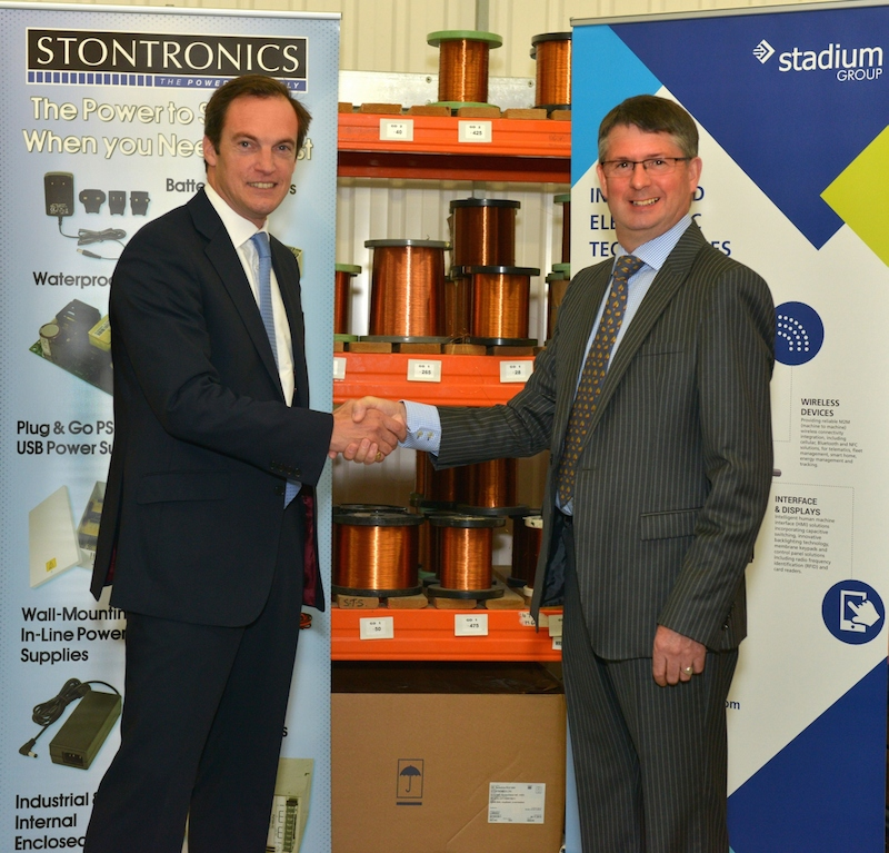 Stadium Group acquires Stontronics