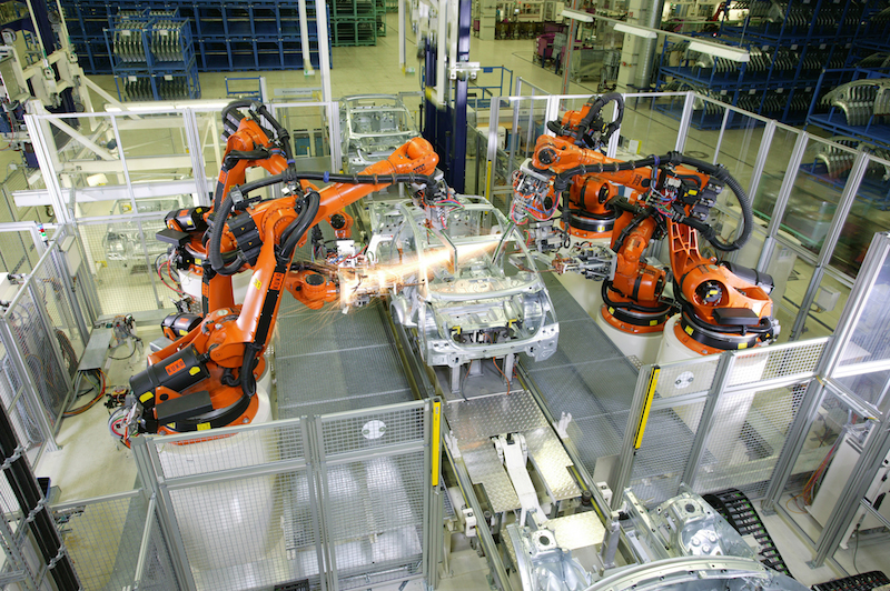 Yokogawa's Precision Power Scope helps KUKA Systems optimize industrial robot performance