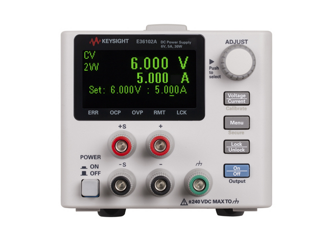 Keysight Technologies' compact supplies enable accurate, reliable bench testing