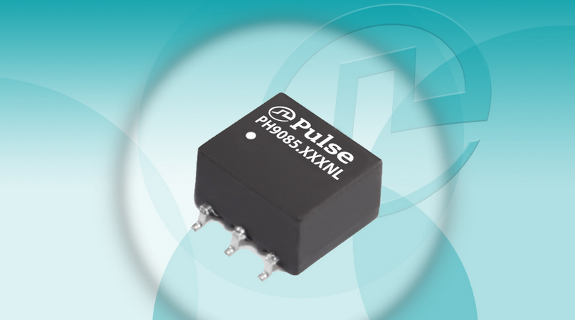 Pulse's isolation power transformers suit communications interface apps
