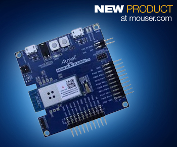 Atmel's SAMW25 SmartConnect Wi-Fi module now at Mouser