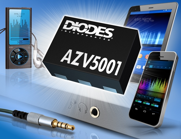 Diodes' mini low-power IC enables cost-effective headset detection