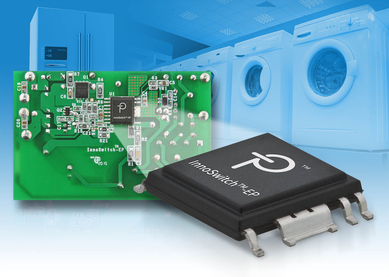 Power Integrations' 725 V InnoSwitch-EP ICs enable designers to comply with ENERGY STAR and ErP TEC