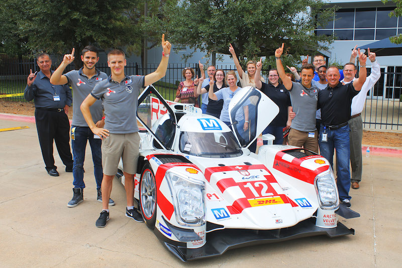 Mouser-sponsored Rebellion Racing hits the track in Austin