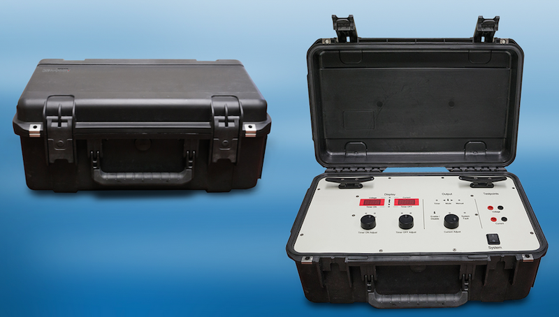 Astrodyne TDI's rugged, lightweight digitally-controlled test rectifier has cathodic protection